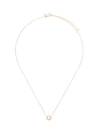 Main View - Click To Enlarge - Ruifier - 'Smitten' 18k rose gold pendant necklace
