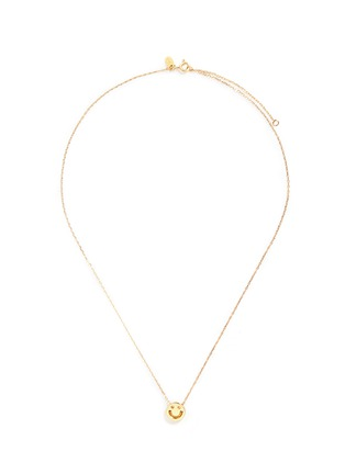 Main View - Click To Enlarge - Ruifier - 'Happy' 18k yellow gold chain pendant necklace
