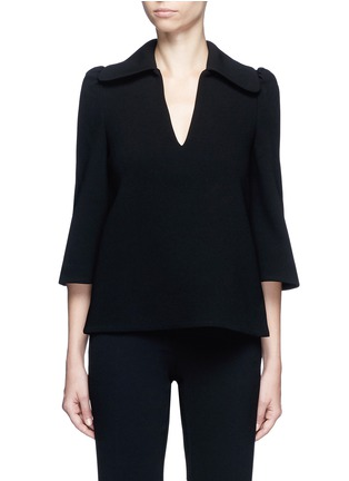 Main View - Click To Enlarge - Co - Flared sleeve crepe top