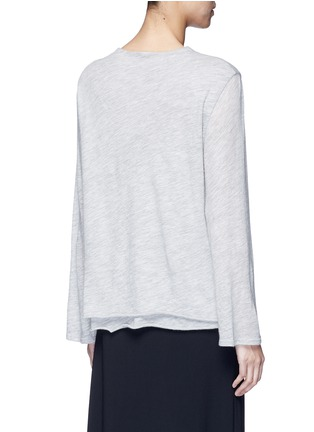Back View - Click To Enlarge - THE ROW - 'Zadie' flared sleeve cashmere sweater