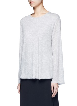 Front View - Click To Enlarge - THE ROW - 'Zadie' flared sleeve cashmere sweater
