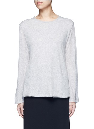 Main View - Click To Enlarge - THE ROW - 'Zadie' flared sleeve cashmere sweater