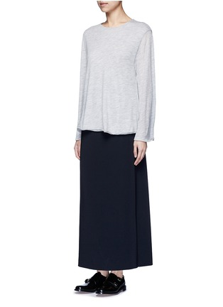 Figure View - Click To Enlarge - THE ROW - 'Zadie' flared sleeve cashmere sweater
