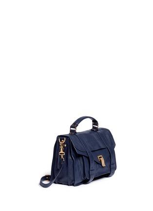 Front View - Click To Enlarge - Proenza Schouler - 'PS1' medium leather satchel