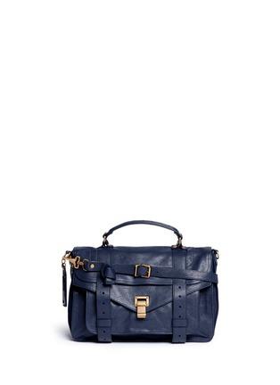 Main View - Click To Enlarge - Proenza Schouler - 'PS1' medium leather satchel