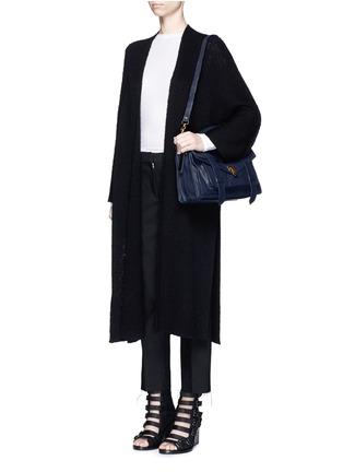 Figure View - Click To Enlarge - Proenza Schouler - 'PS1' medium leather satchel