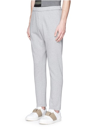 Front View - Click To Enlarge - Marni - Cotton French terry jogging pants