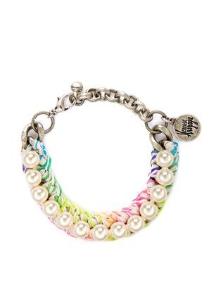 Main View - Click To Enlarge - Venessa Arizaga - 'Pretty Pearl' bracelet