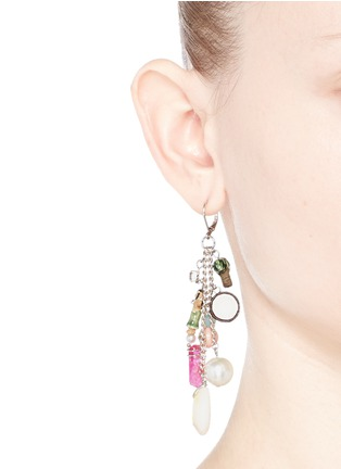 Figure View - Click To Enlarge - Venessa Arizaga - 'Sea Fairy' drop earrings
