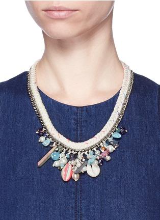 Figure View - Click To Enlarge - Venessa Arizaga - 'Sea Fairy' necklace