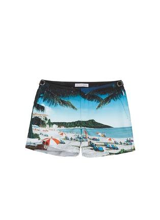 Main View - Click To Enlarge - Orlebar Brown - Setter Hulton Getty' beach print swim shorts