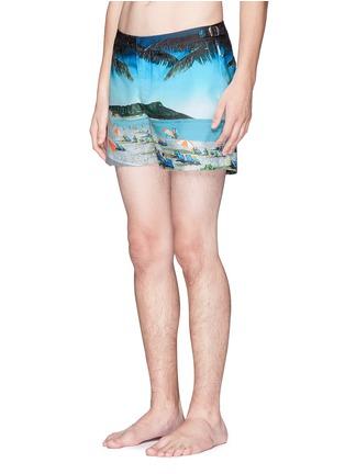 Figure View - Click To Enlarge - Orlebar Brown - Setter Hulton Getty' beach print swim shorts