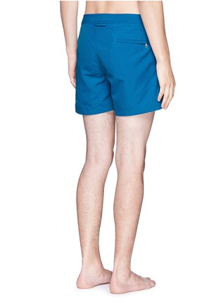 Back View - Click To Enlarge - Orlebar Brown - 'Setter' short-length swim shorts