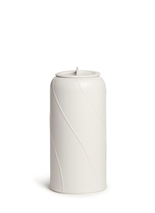 Main View - Click To Enlarge - Bitossi Ceramiche - Canisters small vase with lid