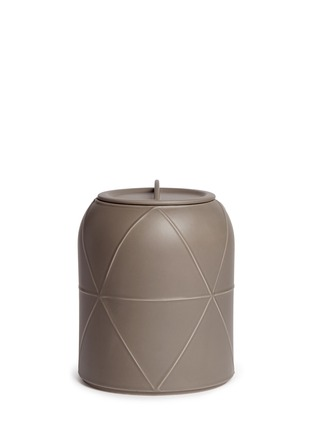 Main View - Click To Enlarge - Bitossi Ceramiche - Canisters small stout vase with lid