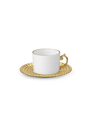 Main View - Click To Enlarge - L'Objet - AEGEAN TEACUP AND SAUCER SET