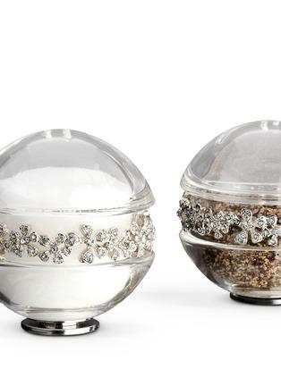 Detail View - Click To Enlarge - L'Objet - Garland Salt and Pepper Shaker - Platinum