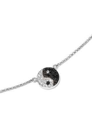 Figure View - Click To Enlarge - Bao Bao Wan - 'LITTLE YIN YANG' 18K GOLD DIAMOND NECKLACE