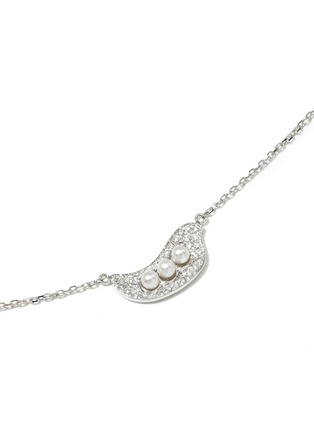 Figure View - Click To Enlarge - Bao Bao Wan - 'Little Pea' 18k gold diamond pearl necklace