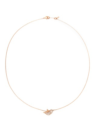 Main View - Click To Enlarge - Bao Bao Wan - 'Little Teapot' 18k gold diamond necklace