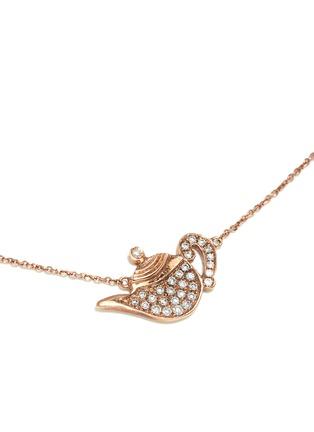 Figure View - Click To Enlarge - Bao Bao Wan - 'Little Teapot' 18k gold diamond necklace