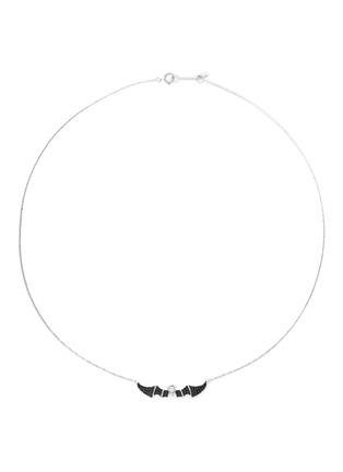 Main View - Click To Enlarge - BAO BAO WAN - 'Little Bat' 18k gold diamond necklace