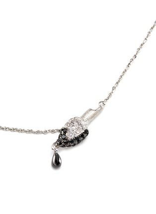 Figure View - Click To Enlarge - BAO BAO WAN - 'Little Brush' 18k gold diamond necklace
