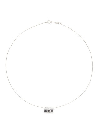 Main View - Click To Enlarge - Bao Bao Wan - 'Little Camera' 18k gold diamond moonstone necklace