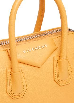 Detail View - Click To Enlarge - GIVENCHY - 'Antigona' mini leather bag