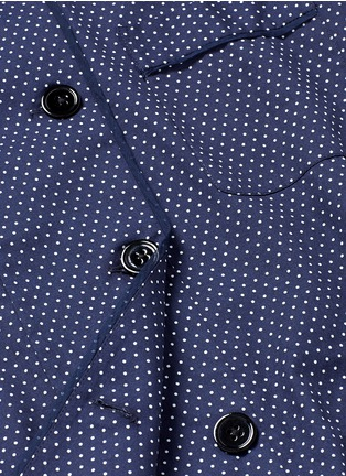 Detail View - Click To Enlarge - Araks - Shelby' polka dot cotton pyjama top