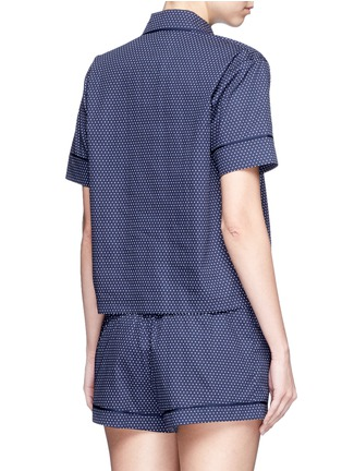 Back View - Click To Enlarge - Araks - Shelby' polka dot cotton pyjama top