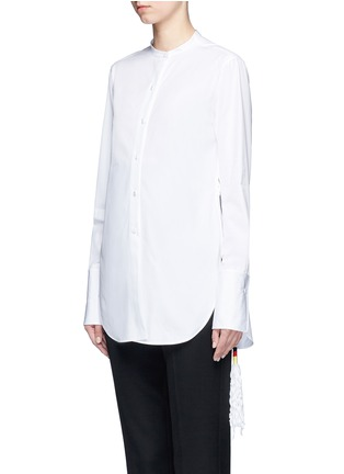 Front View - Click To Enlarge - Ports 1961 - Tassel side poplin shirt
