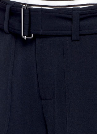 Detail View - Click To Enlarge - Vince - Belted cropped pants