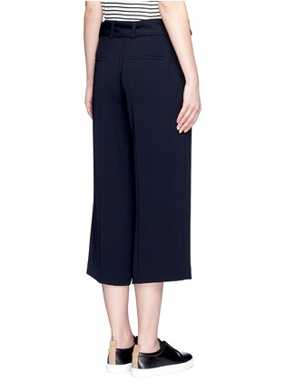 Back View - Click To Enlarge - Vince - Belted cropped pants