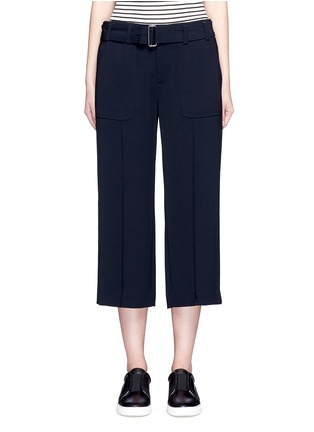 Main View - Click To Enlarge - Vince - Belted cropped pants