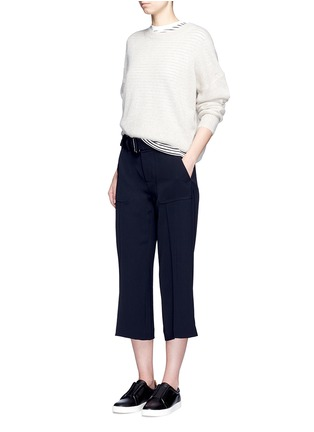 Figure View - Click To Enlarge - Vince - Belted cropped pants