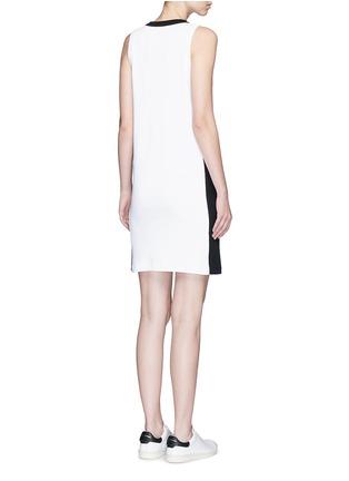 Back View - Click To Enlarge - rag & bone - 'Sam' contrast sport stripe jersey dress