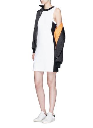 Figure View - Click To Enlarge - rag & bone - 'Sam' contrast sport stripe jersey dress