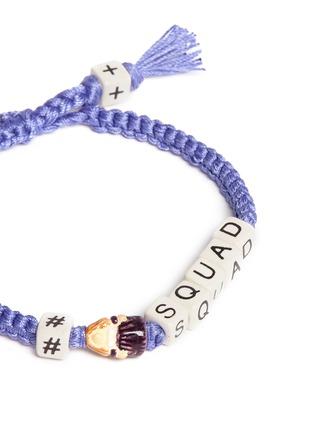 Detail View - Click To Enlarge - Venessa Arizaga - 'Squad' bracelet