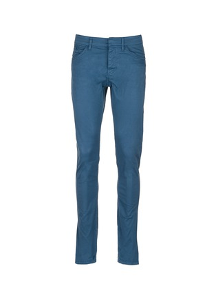 Main View - Click To Enlarge - Balenciaga - Stretch cotton raw denim jeans