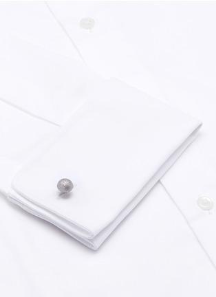 Figure View - Click To Enlarge - MAGNUS & NOVUS - Reversible matte crystal cufflinks
