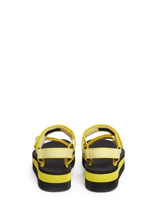 Back View - Click To Enlarge - Teva - 'Flatform Universal' candy stripe print sandals