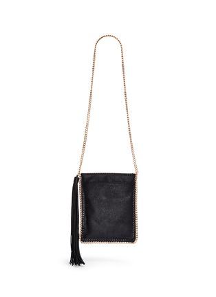 Back View - Click To Enlarge - Stella McCartney - 'Falabella' crossbody flat chain bag