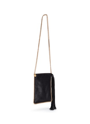 Front View - Click To Enlarge - Stella McCartney - 'Falabella' crossbody flat chain bag