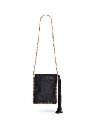 Main View - Click To Enlarge - Stella McCartney - 'Falabella' crossbody flat chain bag