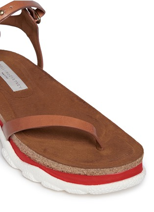 Detail View - Click To Enlarge - Stella McCartney - 'Canyon' chunky cork foam sole sandals