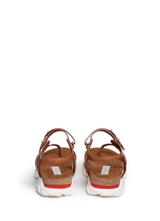 Back View - Click To Enlarge - Stella McCartney - 'Canyon' chunky cork foam sole sandals
