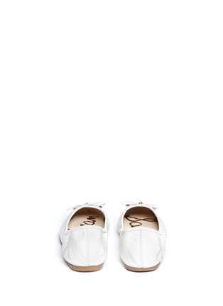 Back View - Click To Enlarge - Sam Edelman - Felicia' leather ballet flats