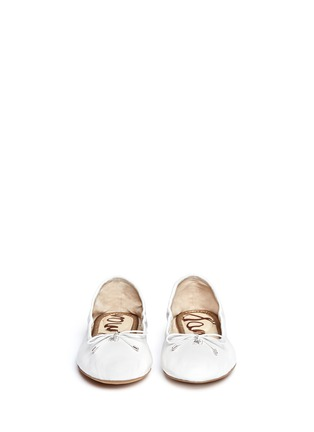 Figure View - Click To Enlarge - Sam Edelman - Felicia' leather ballet flats