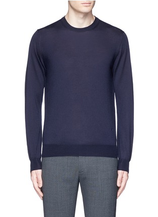 Main View - Click To Enlarge - ISAIA - Cashmere-silk sweater
